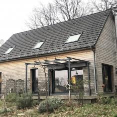 Allogny maison ossature bois 4 chambres