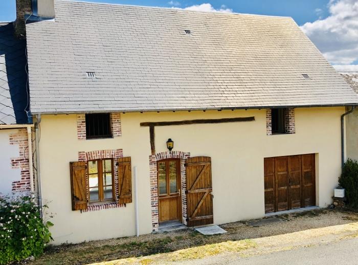 Maison ancienne rénovée pas de travaux