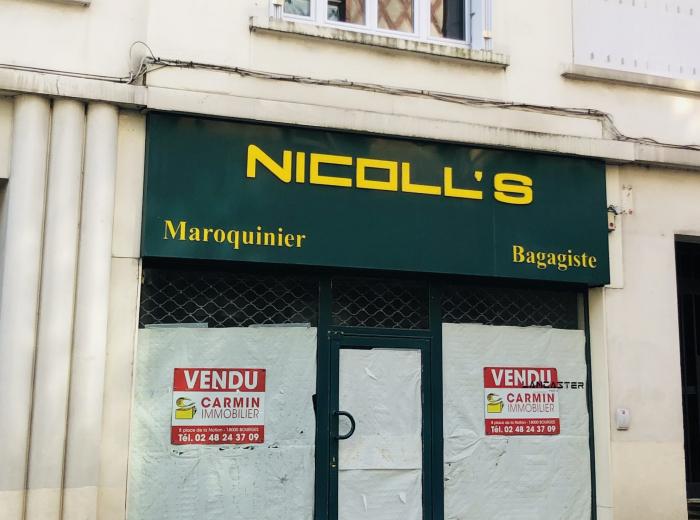 Vendu par l'agence Boutique centre ville Bourges
